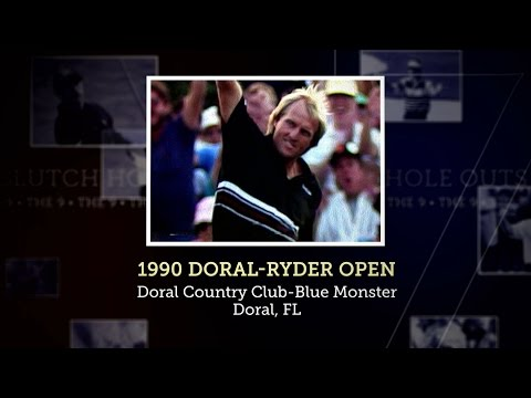 Signature Shot   Greg Norman's Eagle To Win 1990 Doral-Ryder Open