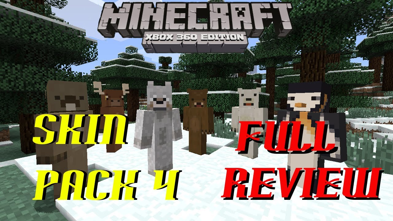 Minecraft Xbox  SKIN PACK 11 REVIEW  Animal Skins + more - YouTube