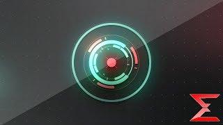 Free Sony Vegas Intro Template #29  : HUD Logo Reveal Intro template for Sony Vegas 16 - EFX
