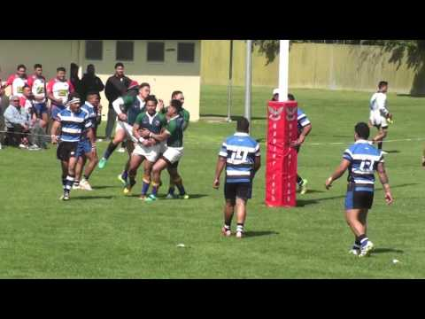 Hawkes Bay Samoa vs Manawatu Samoa 1st Half 2016 HD