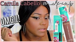 OMG!!!! Camila ooh na-na Cabello x Loreal Makeup Collection First Impressions