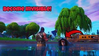 This cannon trick will make you completely invisible (Fortnite season 8 secret)