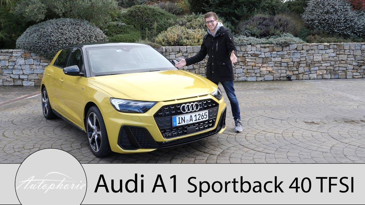 2018 Audi A1 Sportback 40 Tfsi Fahrbericht Wie Viel Premium Steckt Wirklich Drin Autophorie