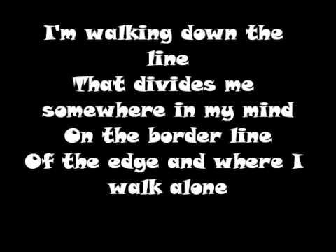 Green Day : Boulavard Of Broken Dreams Lyrics