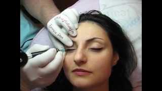 Tatuaj ochi salon machiaj semipermanent ochi Zarescu Dan ZDM http://www.machiajtatuaj.ro