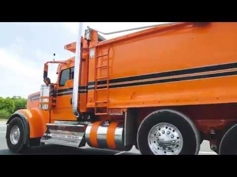 800HP Kenworth W900 dump truck #2 - YouTube