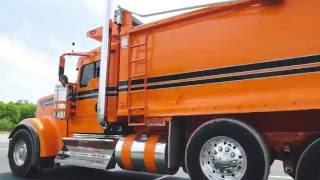 800HP Kenworth W900 dump truck #2