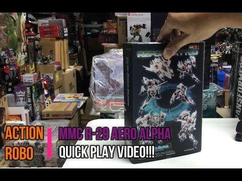 【AR 】 MMC R-29 Reformatted Aero Alpha quick play video!!!