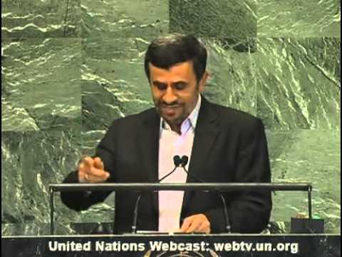 President Ahmadinejad UN speech 2012 (FULL)