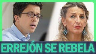 Errejón SE REBELA contra Yolanda Díaz