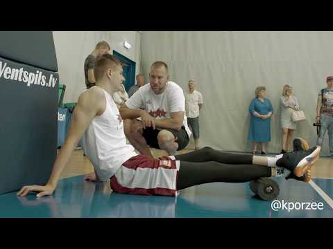 Off-season work / Kristaps Porzingis / #004 - Latvia national basketball team