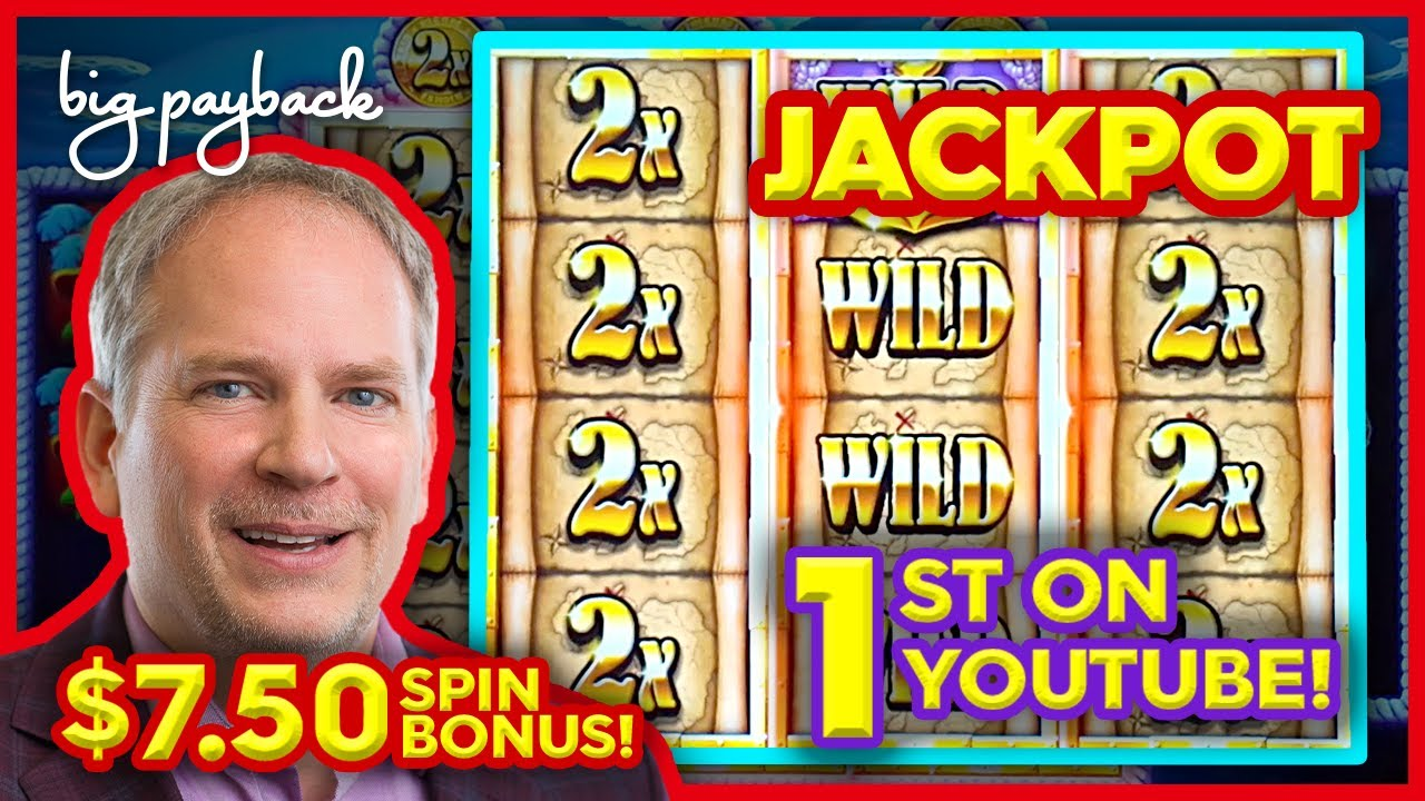 1st JACKPOT ON YOUTUBE!! for Captain Riches Slot - DREAM SESSION!