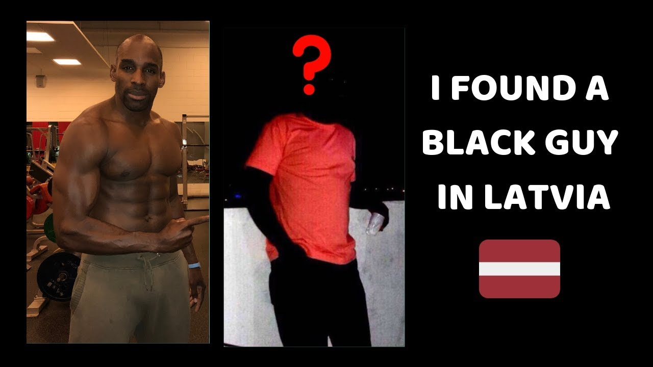 Black man in latvia
