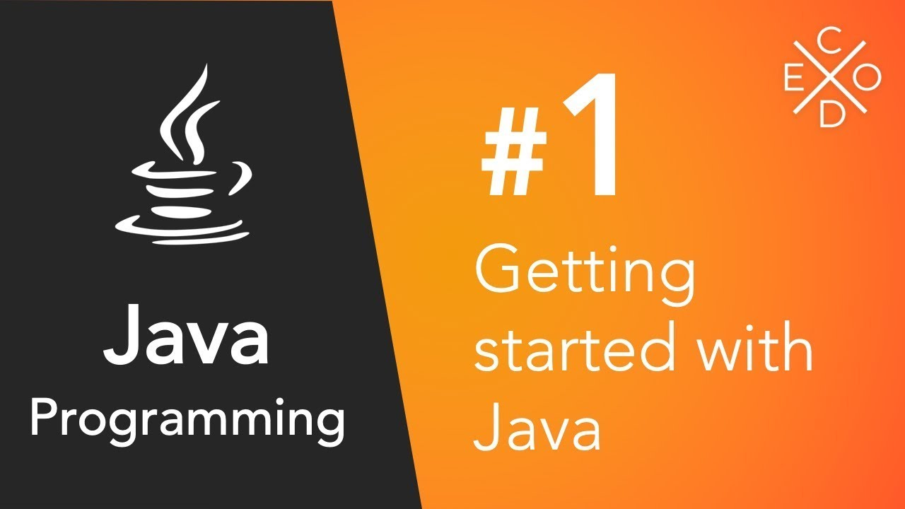 Java Programming #1 - Getting Started with Java - YouTube