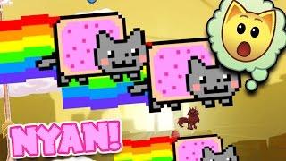 NYAN CATS INVADE ANIMAL JAM