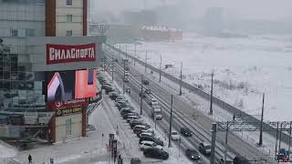 Медиафасад, г.Самара, Московское шоссе, д. 17, Р16