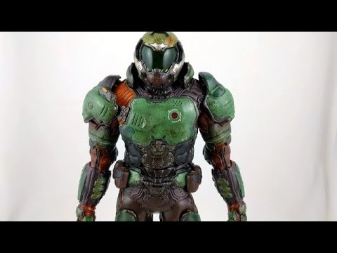 Wo3A Doom Space Marine 1/6 Scale Figure Unboxing