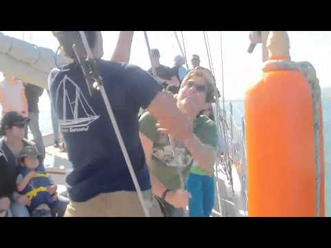 """Sailboat trip from Sausalito to San Francisco with """"Call of the Sea"""""""