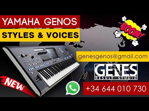 Армянские и кавказские ритмы для YAMAHA GENOS / Premium Pack
