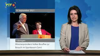 Hessischer Ministerpräsident Volker Bouffier zu Besuch in Tübingen
