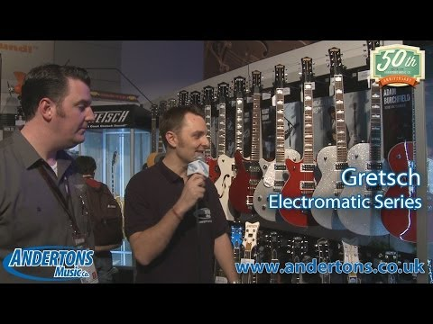 NAMM 2014 Archive - Gretsch Electromatic Guitars 2014 - Two new colours