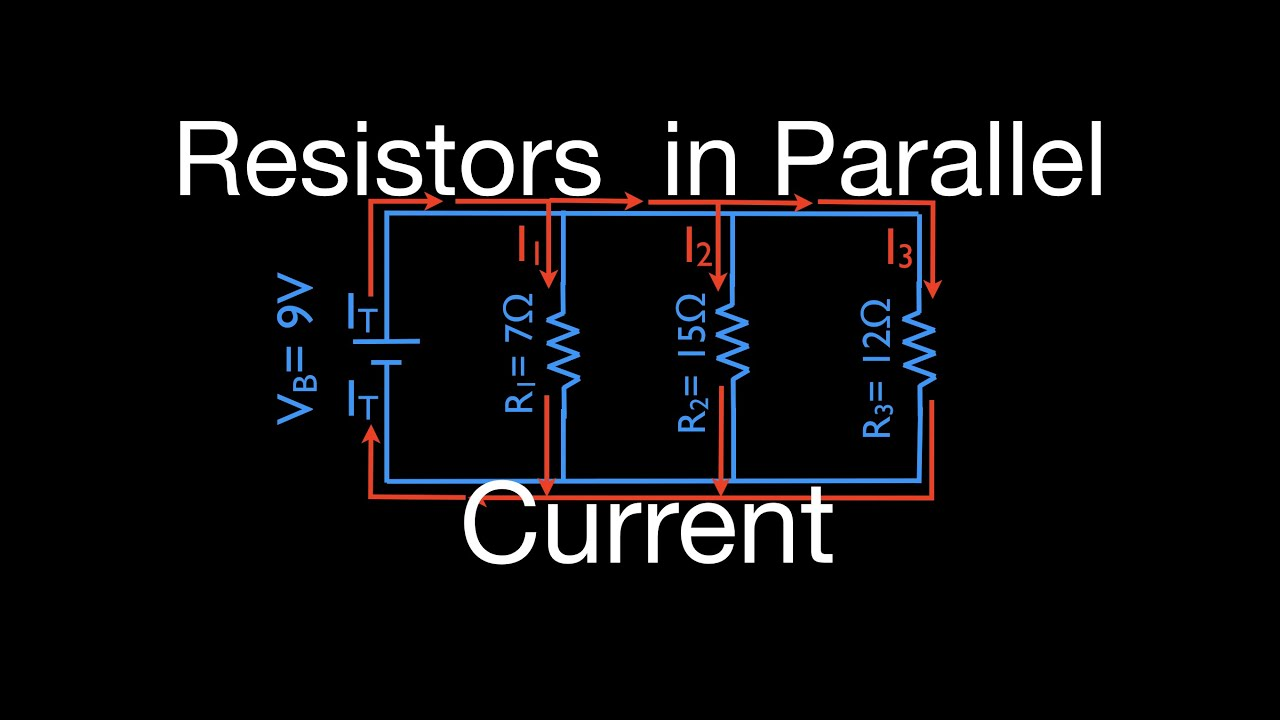 Resistors 10 0f 11 In Parallel Calculating Current Youtube How To Solve Any Series And Circuit Problem