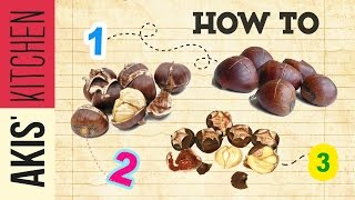 How to bake chestnuts | Akis Kitchen