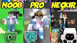 NOOB VS PRO VS HEÇKIR / Pet Simulator #12 / Roblox Türkçe