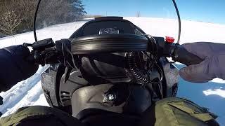 Тайга атака 2 551 по глубокому снегу и по оврагам