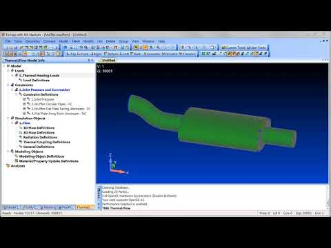 Femap 11.4.2: Thermal / Flow Interface Overview