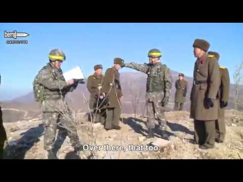 Conversation between South and North Korean soldiers at the DMZ (English Subtitle)