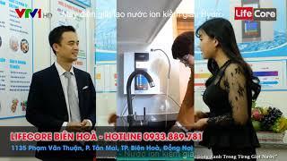 Máy điện giải ion kiềm giàu hydro  LIFECORE Biên hoà-0933889781