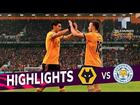 Wolverhampton vs. Leicester City: 4-3 Goals & Highlights | Premier League | Telemundo Deportes