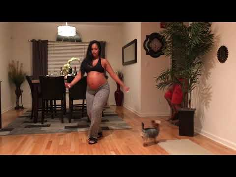 8 Months Pregnant Baby Mama Dance Challenge