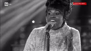 Roberta Bonanno è Aretha Franklin: