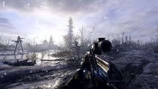 Russian Post-Apocalyptic Village in Cool FPS Game on PC Metro Exodus