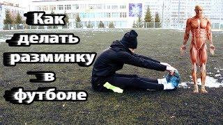 Как разминаться в футболе | Разминка перед тренировкой  Упражнения для растяжки | Обучение |