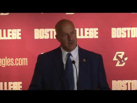 Football: Bowl Announcement Press Conference (Dec. 3, 2017)