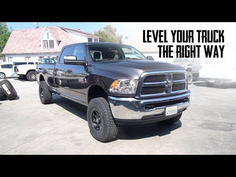 Level Your Truck The Right Way | Carli Suspension 2014+ Leveling Kit