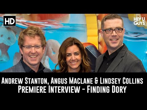 Andrew Stanton, Angus Maclane & Lindsey Collins Premiere Interview - Finding Dory Mp3