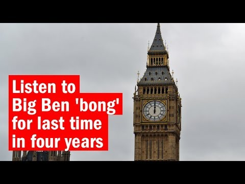Listen to Big Ben 'bong' for last time in four years | City Secrets | Time Out London