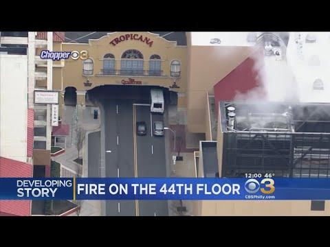Flames Break Out At Tropicana Casino & Resort In Atlantic City