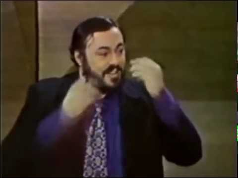 Pavarotti speaks of using a Breath Holding Exercise
