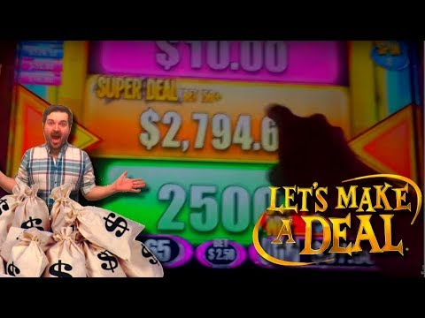 SDGuy Makes One Hell of an AMAZING DEAL!!!! LIVE PLAY and Bonuses on Let's Make A Deal Slot Machine