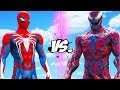 SPIDERMAN VS CARNAGE - EPIC BATTLE