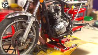 Démontage de la moto