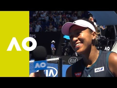 Naomi Osaka on-court interview (QF) | Australian Open 2019