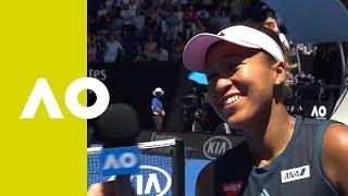 Naomi Osaka on-court interview (QF) | Australian Open 2019