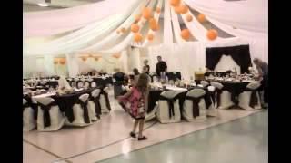 Оформление свадьбы в спортивном зале