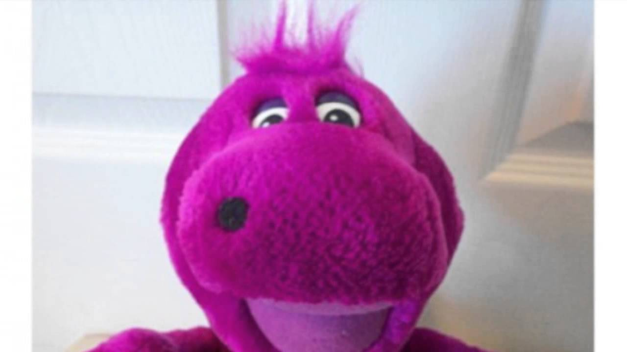 barney with purple hair youtube